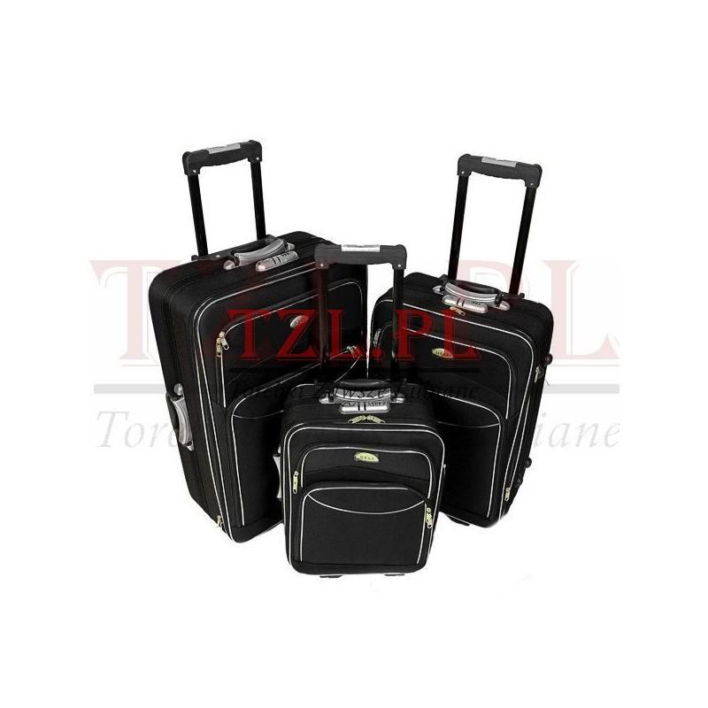 Mała walizka Deli M/101 Czarna