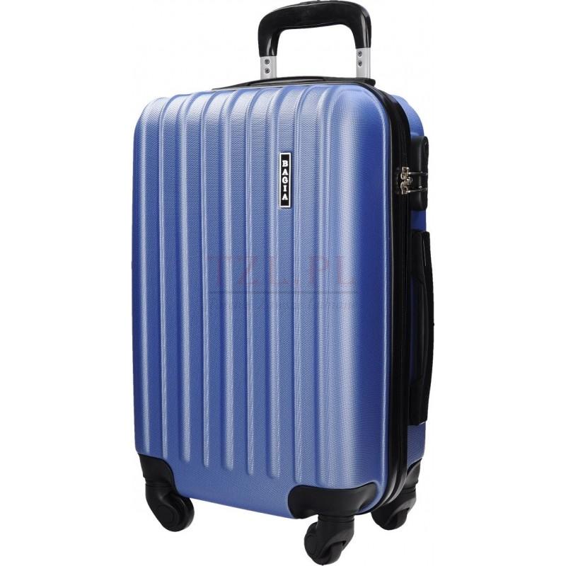 Duża walizka Bagia 8203 Jasnoniebieska