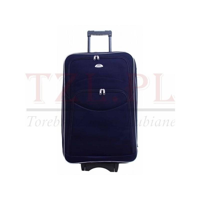 Duża walizka Deli 101  Granatowa