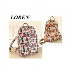 Plecak Loren NL-04-2 Kolorowy