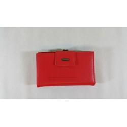 Portfel Cavaldi z biglem D14 0301 PC Czerwony