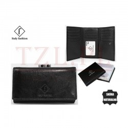 Portfel Italy Fashion 55020-SL Czarny