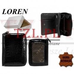 Portfel Loren 5157-RS Czarny