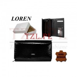 Portfel Loren 72035-RS Czarny