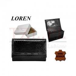 Portfel Loren JP-507-RS Czarny