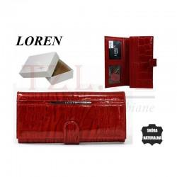 Portfel Loren JP-515-RN Czerwony