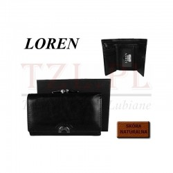 Portfel Loren N23-2-SG Czarny