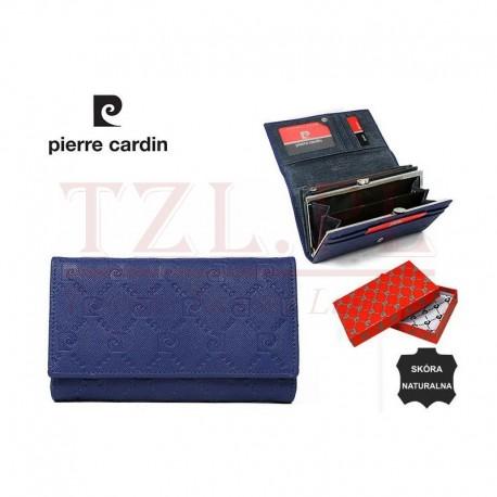 Portfel Pierre Cardin 455 PSP Niebieski