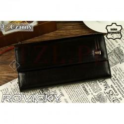 Portfel Rovicky CPR-010 Bar Czarny