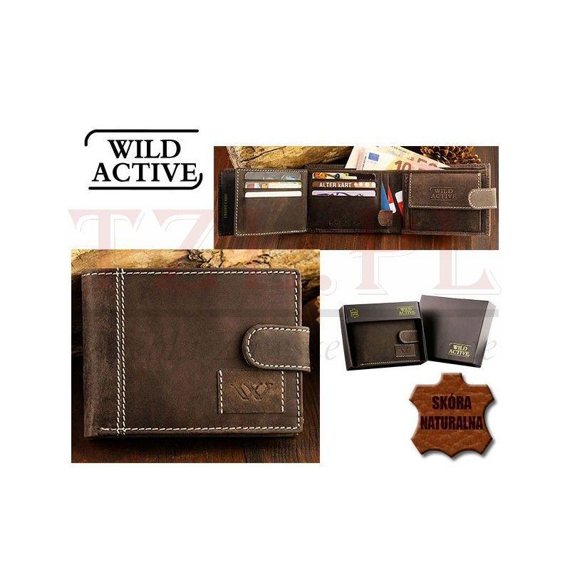 Portfel Wild Active N992L-WA1 Brązowy