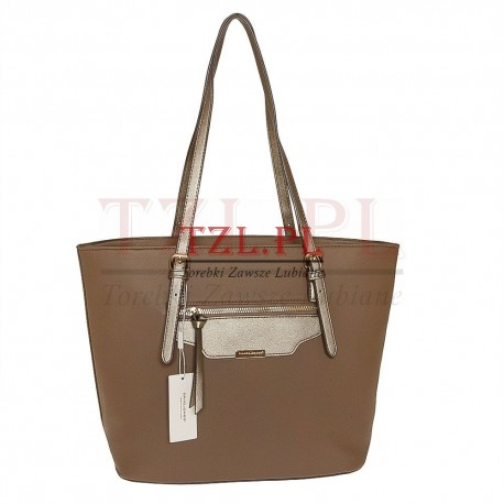 Torebka David Jones Camel shopperka 5290-3