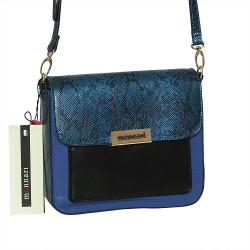 Torebka Monnari 2520-008 Zielona z Niebieskim