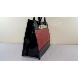 Torebka Monnari 8431-005 Czarna z czerwonym