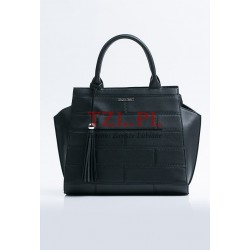 Torebka Monnari Czarna klasyczna kuferek B530