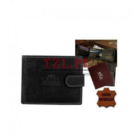 Portfel męski Always Wild N992L-MH Czarny