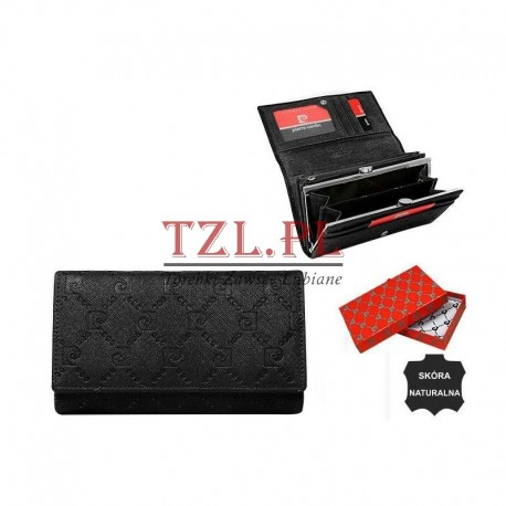 Portfel damski Pierre Cardin 455 PSP Czarny