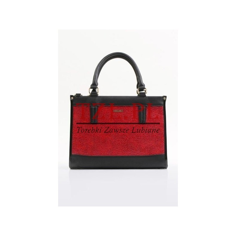 Torebka Monnari 0320-005 Czerwona z czarnym