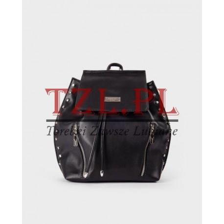 Plecak Femestage Eva Minge Czarny pojemny elegancki 63336