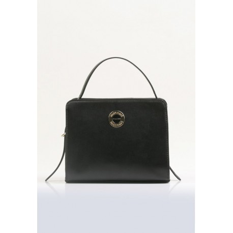 Torebka elegancka czarna Monnari kuferek 3160
