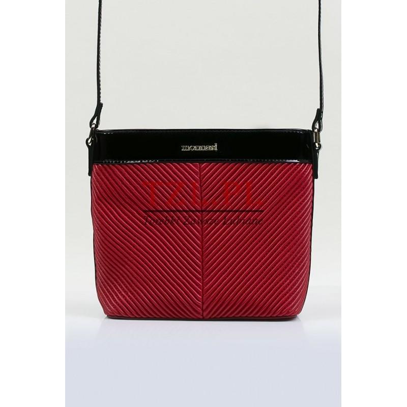 Torebka Monnari 3690-M05 Czerwona z czarnym