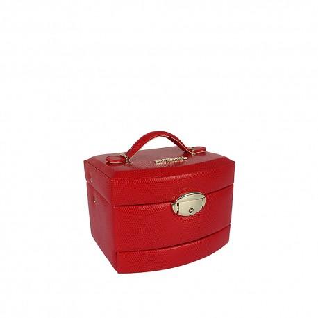 Szkatułka na biżuterię Czerwony 0421