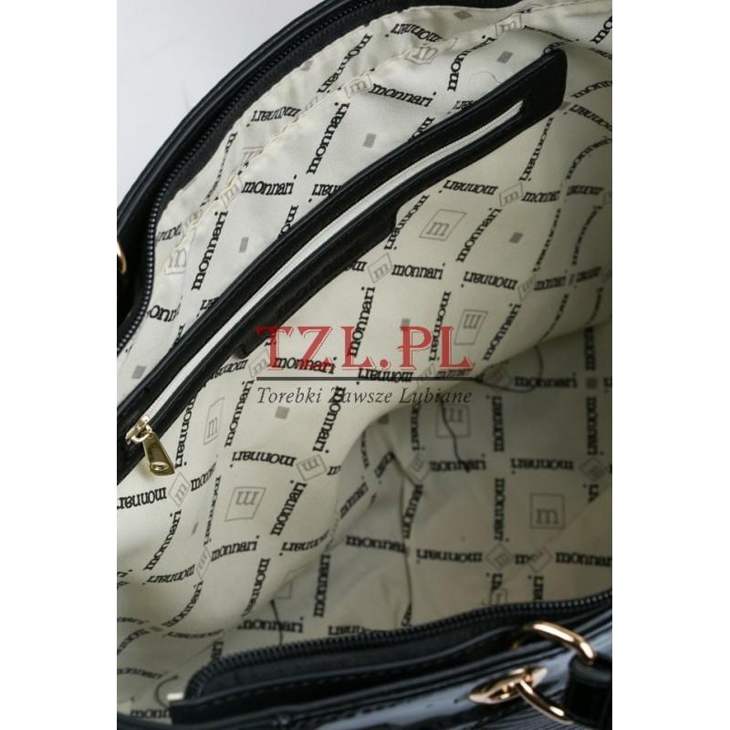 0ec515fe8c421 Torebka Monnari Czarna klasyczna shopperka 3700