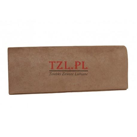 Torebka wizytowa kopertówka Khaki MQ 20216
