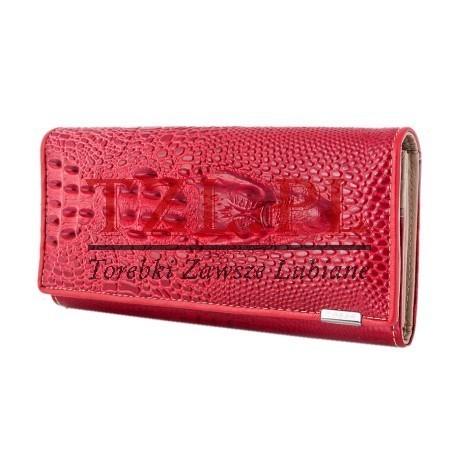 Portfel Loren 72033-RS Czerwony