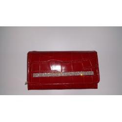 Portfel Loren DL4 CR Czerwony