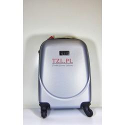 Mała walizka (XS) Srebrna 310