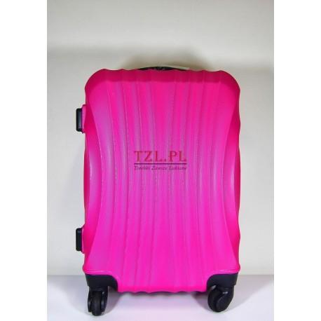 Mała walizka (S) Różowa 159