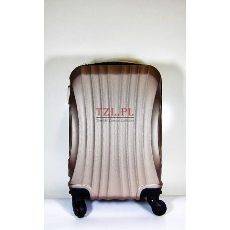 Mała walizka (XS) Szampan 159