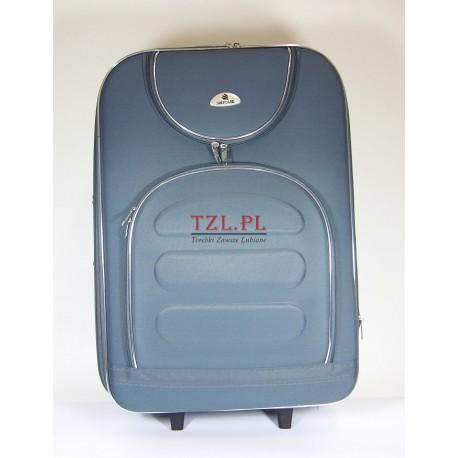 Średnia walizka (M) Szara 801